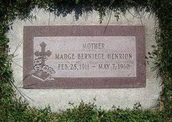 Madge Berniece Ford Henrion (1911-1960) - Find A Grave Memorial