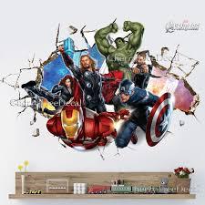 ordinary marvel superhero wall stickers part 10 super hero wall