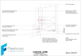 door jamb detail top sectional garage door jamb detail idea for your garage overhead door jamb detail cad door frame detail dwg