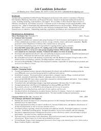 Gallery Of Marketing Job Objective Sports Management Resume