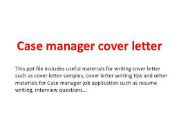 General Manager Cover Letter – Doorlist.me