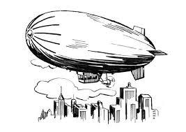 Kleurplaat Zeppelin Afb 18887 Images