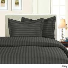 elegant comfort wrinkle resistant dobby stripe 3 piece duvet cover set wrinkle free duvet cover sets