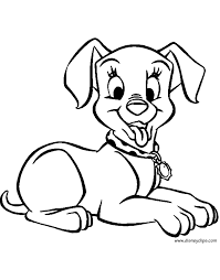 Small Picture 101 Dalmatians Coloring Pages 4 Disney Coloring Book
