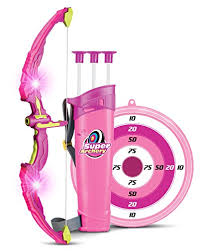 Light Up Princess Archery Bow And Arrow Toy Set for Girls Best Toys 5 Year Old ⋆ Perfect Gift Store