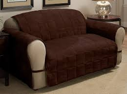 sofa pet covers. Sofa Pet Covers Protect Furniture From Spills And Stains Deluxe Qualited Dark Brown Chocolate Striped C