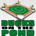 Images & Illustrations of ducks on the pond