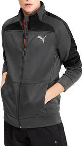 Puma <b>Джемпер Evostripe</b> Warm <b>Jacket</b> Grey <b>Black</b> цена | pigu.lt