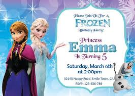 make your own frozen invitations free frozen printables invitations