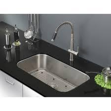ruvati 30 inch undermount 16 gauge stainless steel kitchen sink single bowl
