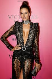 Victoria s Secret CelebsFlash Alessandra Ambrosio Visible Pussy at Victoria s Secret Fashion Show 2016 After Party Paris France 11 30 16