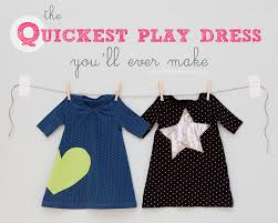 the quickest toddler play dress you ll ever make