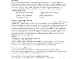 Project Engineer Resume Sample Mechanical Engineering Project ...