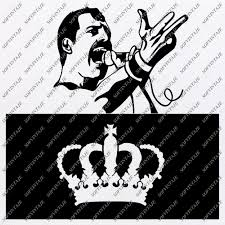 We found for you 15 queen svg freddie mercury logo png images with total size: Freddie Mercury Svg File Queen Original Svg Design Music Svg Clip Art Queen Vector Graphics Svg For Cricut Svg For Silhouette Svg Eps Pdf Dxf Png Jpg Ai