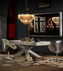 polished marble dining table