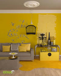 Yellow And Gray Living Room Decor Yellow And Gray Living Room Walls House Decor