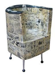 mad paper mache chair
