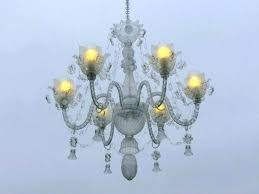 recycled glass chandelier company quorum in silver leaf more collection