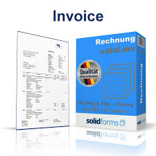 Form For Invoice Sap Adobe Form Invoice Solidforms