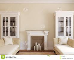 Modern Living Room With Fireplace Modern Living Room With Fireplace Stock Photo Image 26144970