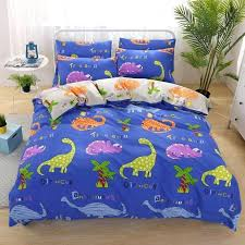 dinosaur twin bedding whole cartoon kids bedding set cotton king queen twin size duvet cover set dinosaur twin bedding