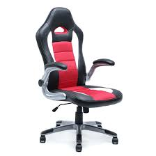 office bucket chair. Bucket Office Chair Executive Racing Style Seat Leather Comter 3 4 Swivel Black