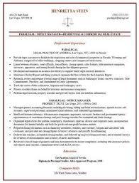 sample paralegal resume   job interviewsthe best sample paralegal resume