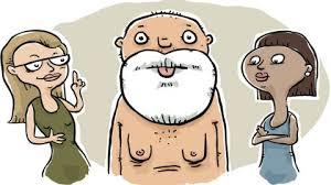 Image result for a boob shock cartoon