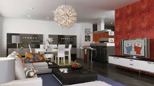Living Room And Kitchen Kitchen Dining And Living Room Design Home Design Ideas