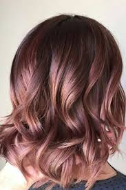 Chocolate Mauve Gorgeous Hair Colors That