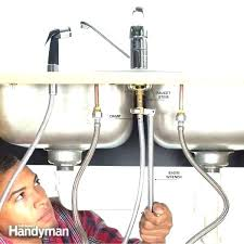 replace kitchen sink faucet kitchen how to replace a sink faucet sprayer replace kitchen sink faucet