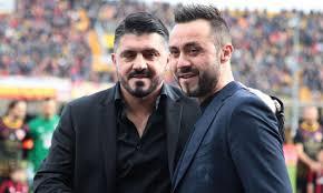 Sassuolo, De Zerbi svela: 'Il dialogo con Gattuso? Abbiamo parlato di  capelli bianchi, di peso e di sigarette...' | Milan