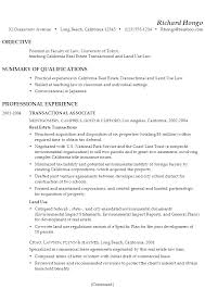 Combination Resume Example Professor Real Estate Law P1 ...