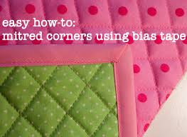 easy how-to: make mitred corners using bias tape • Fluffyland ... & easy how-to: mitred corners using bias tape (a tutorial) Adamdwight.com