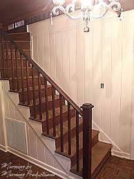 wood walls are not drywall how to paint finished wood walls