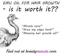emu oil for hair growth is it worth