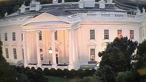 Red Lights White House Red Light In White House Window Becomes Viral Meme Thehill