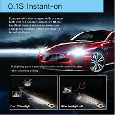 <b>H4 HB2</b> 9003 2000W 320000LM 4-Side LED Headlight <b>CREE</b> Car ...