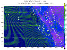 Wind Swell Height And Swell Period Charts Buoyweather Com