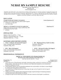 New Nurse Resume No Experience New Grad Resume Template Castbuddy Me