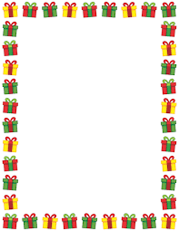 christmas present borders and frames. Exellent And Gingerbread Man Border Clip Art Page Border And Vector Graphics  Printable Christmas Present  With Present Borders And Frames Pinterest