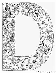Small Picture animal alphabet letters to print color or stitch