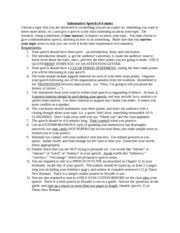 public speaking class self evaluation form kyla evely public 1 pages public speaking informative speech description 1