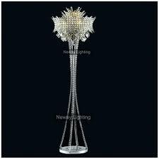 crystal floor chandelier designer decorative floor lamp designer decorative floor chandelier pottery barn crystal