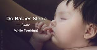 Do Babies Sleep More When Teething Yes Or No