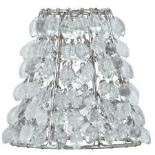 clip on lampshades lamp shades chandelier shade mini for elegant home decor small uk