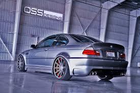 Oss Design Oss Designs E46 M3 On Custom Cv4 Vossen Wheels