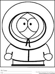 Southpark Coloring Pages For Teens Coloring Pages Pinterest