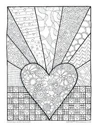 heart design coloring pages.  Coloring Human Heart Coloring Pages Sheets  Page Of Design  And