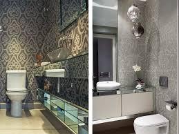 Waterproof Wallpaper For Bathrooms Thedancingpa Com